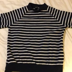 SMALL NAVY STRIPED SWEATER